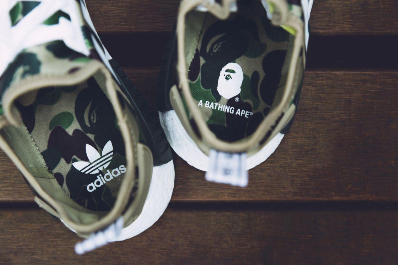 bape nmd scarpa invidia pinterest le adidas, adidas e adidas