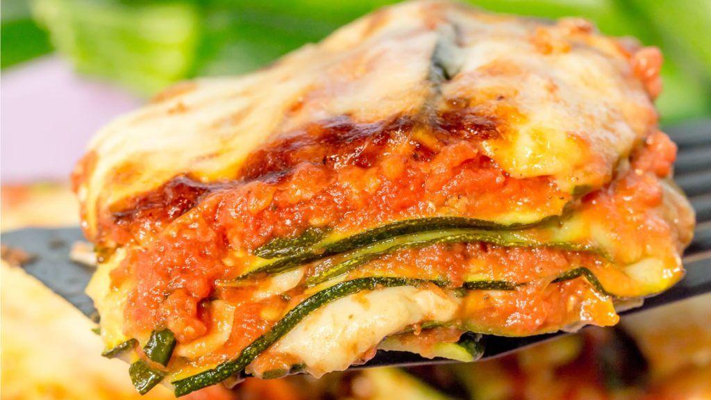 La parmigiana di zucchine dietetica ma buonissima con sole 260 kcal a piatto!