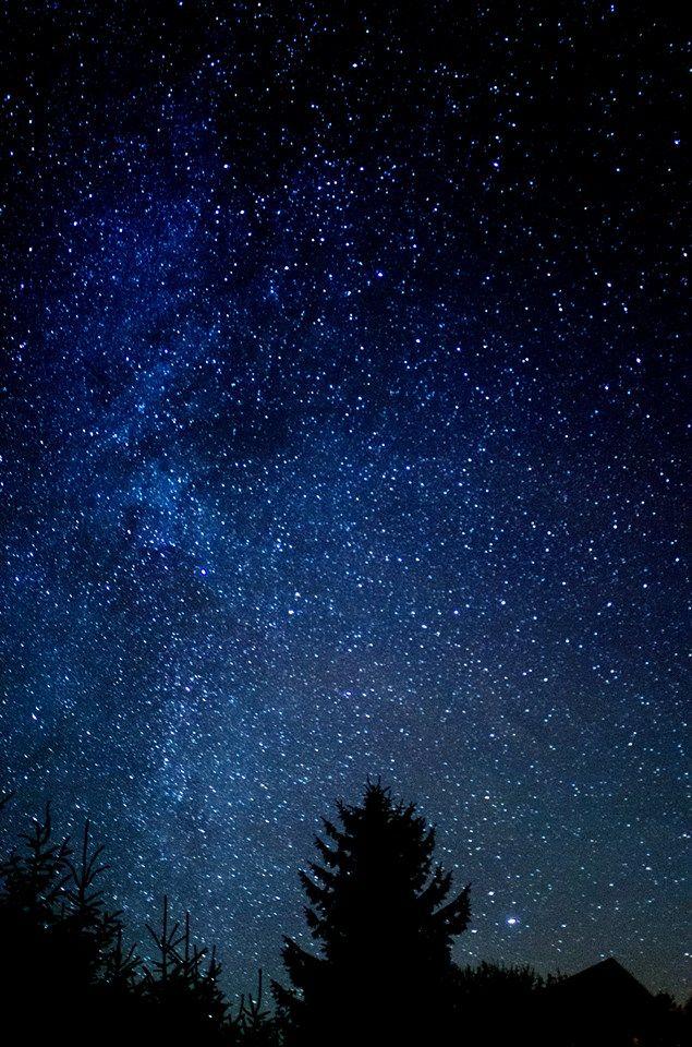 Night Sky Over Ireland Night Sky Photography Night Sky Painting Beautiful Night Sky