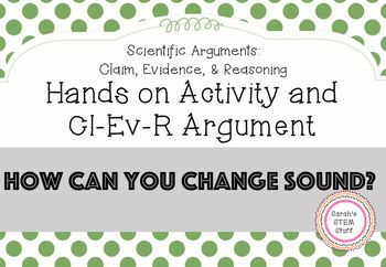 Scientific Argument - Sound Waves Activity