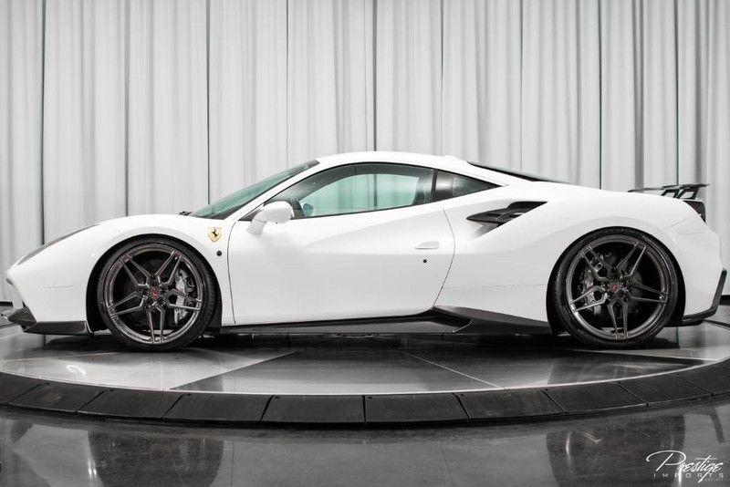 2017 Ferrari 488 Gtb Full Novitec Carbon Fiber Body Kit North Miami Beach Fl Miami Beach Fl North Miami Beach Ferrari
