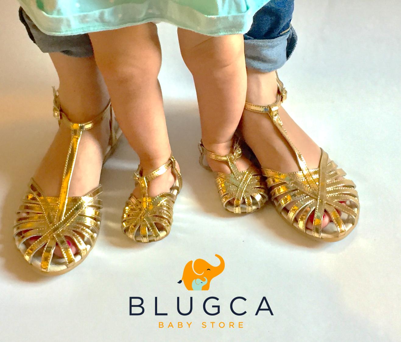 Blugca Shoes Summer 2017 Sandalias dúo mamá-bebé