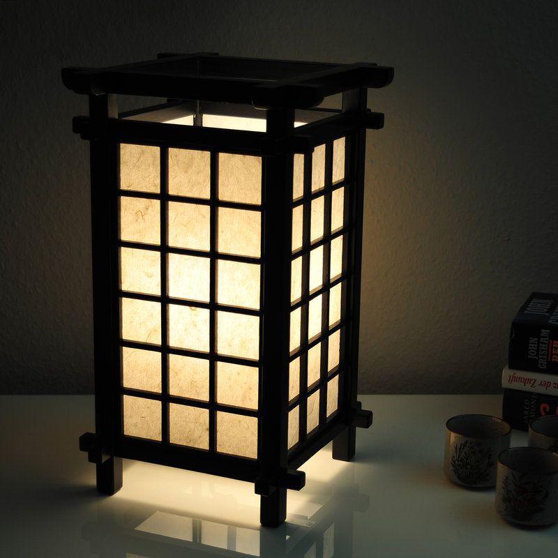 Japanische Lampe Ido Schwarz Japanische Lampen Japanische Wohnzimmer Japanische Dekoration