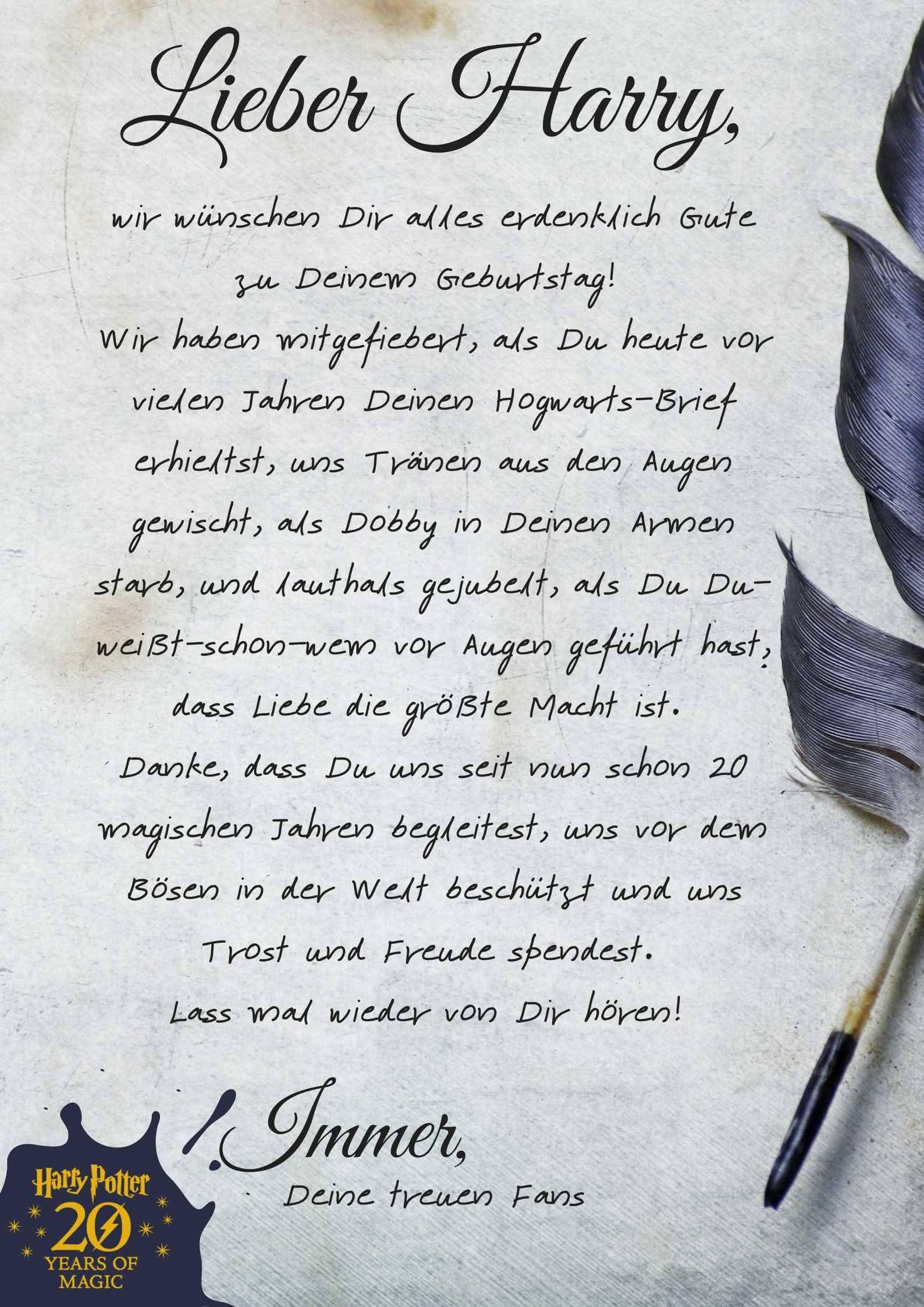 So Feiert Man Einen Harry Potter Geburtstag Harry Potter Harry Potter Geburtstag Geburtstag Gute Zum Geburtstag