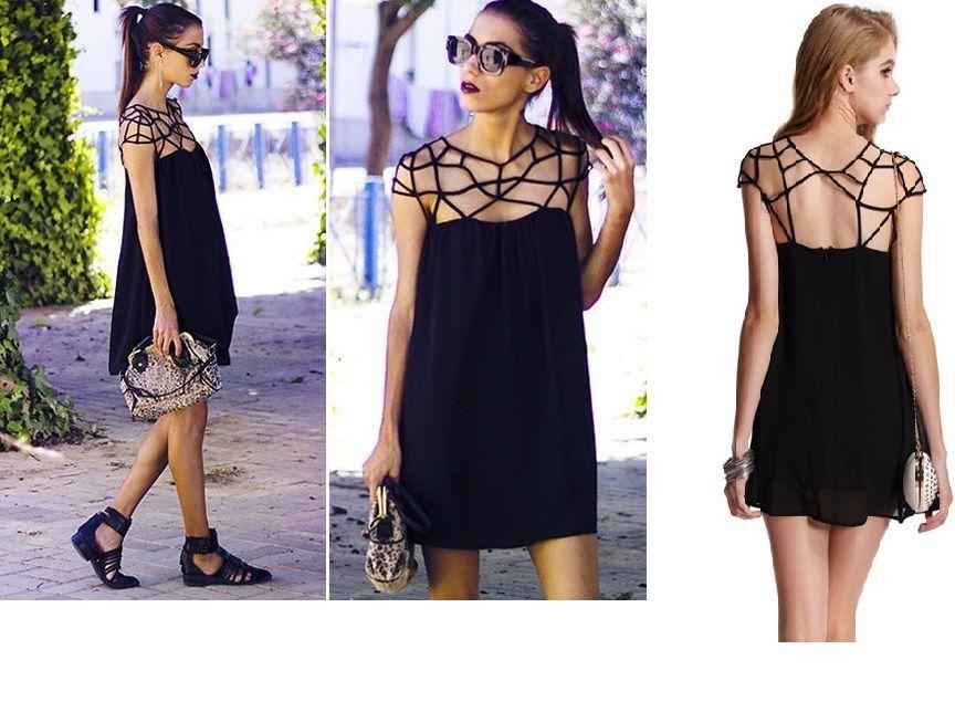 vestido preto little black dress