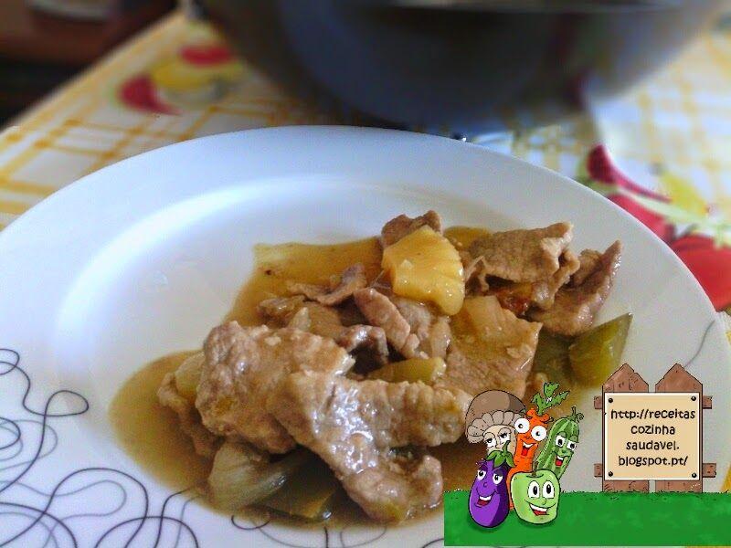 Porco com Ananás