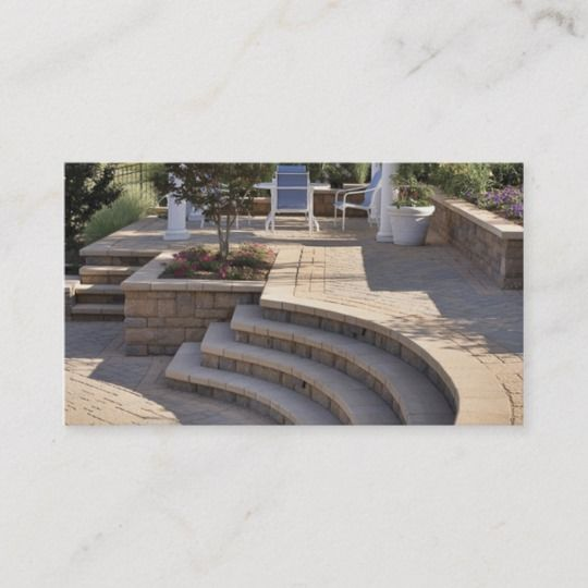 Landscape Company Business Card