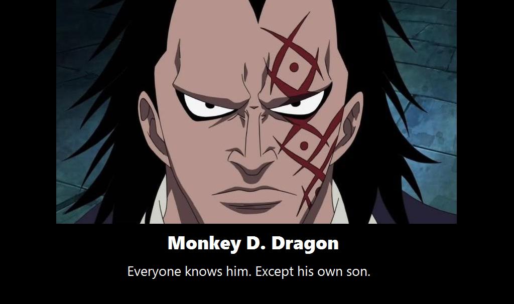 Monkey D. Dragon Monkey d dragon, One piece chapter