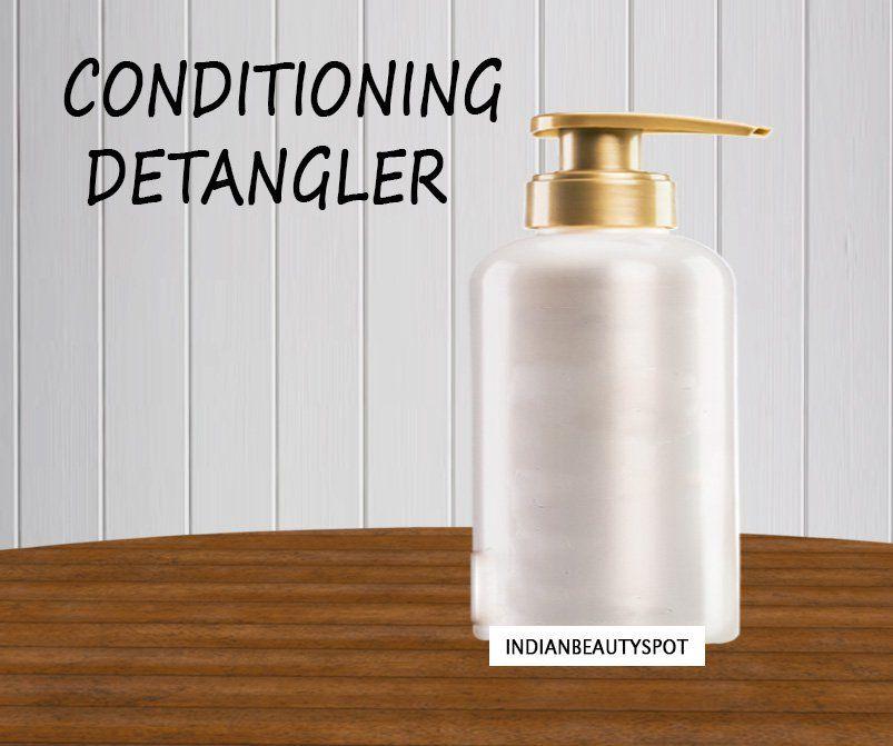 Conditioner detangler diy hair detangler coconut oil