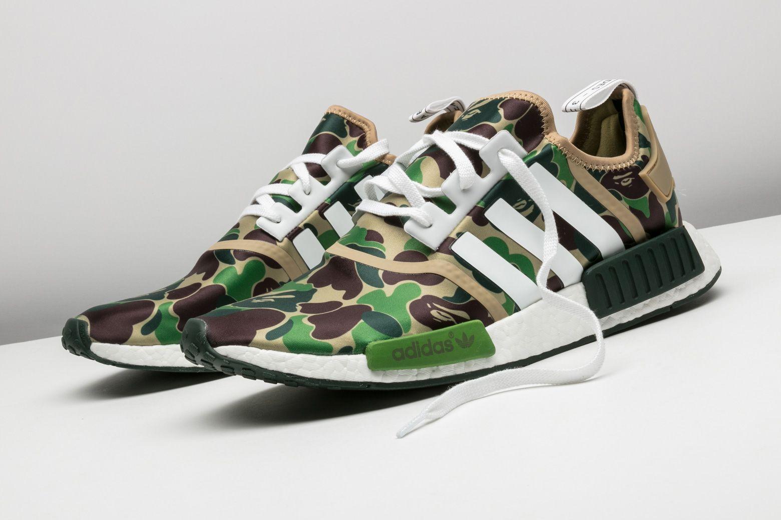 finest selection ea9a0 8213b Adidas NMD_R1 Bape