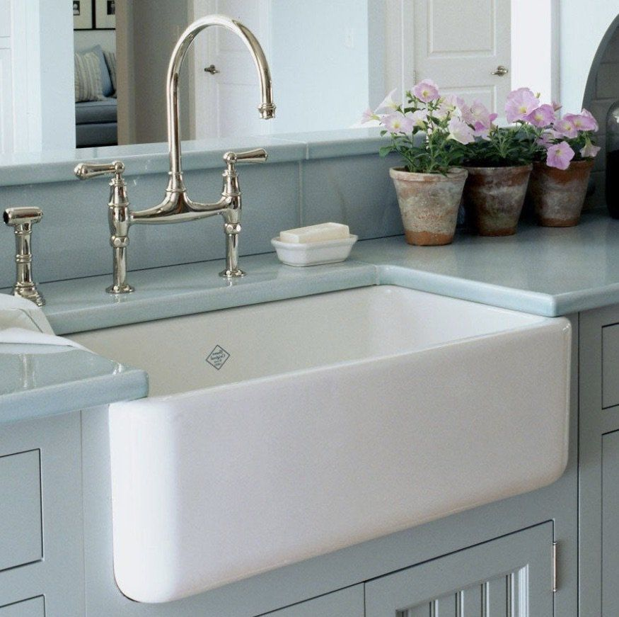 Fire Clay Sinks Houzer Vs Barclay Vs Rohl Farmhouse Sink Faucet Farm Sink Kitchen Fireclay Farmhouse Sink