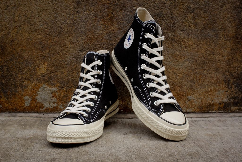 Converse 1970 Chuck Taylor All-Star Hi - Black / White | Sneaker