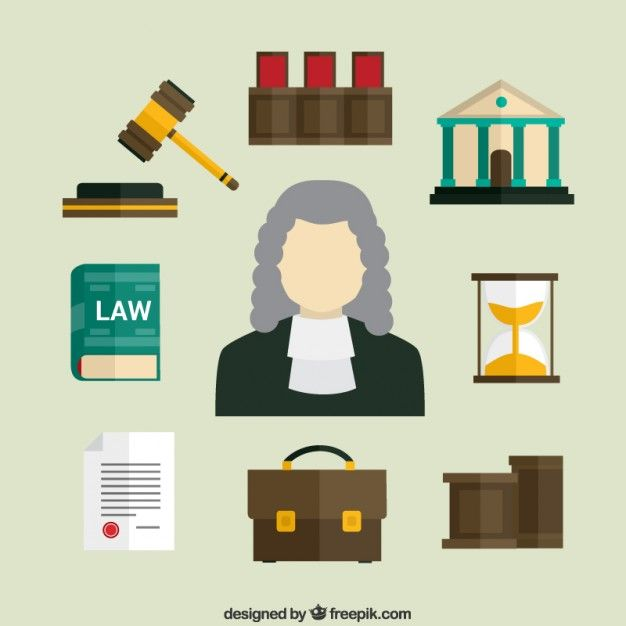 Law Icons Law Icon Vector Free Law