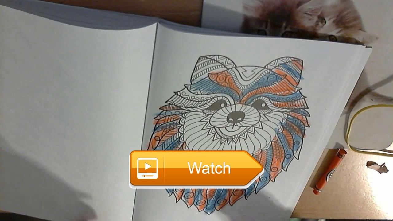 everyone loves Coloring Cats and dogs one Colorful dog    on Pet Lovers
