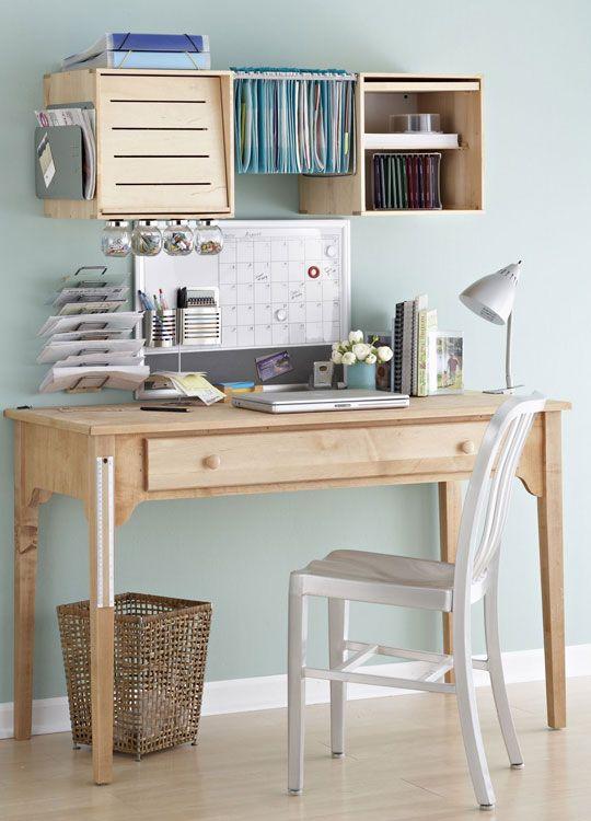 Simple desk area.