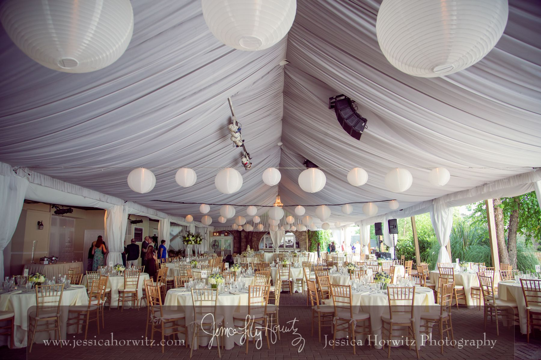 Piedmont Garden Tent Reception At Park Tavern Photo By Jessica Horwitz Photography Tent Reception Tent Wedding Garden Wedding Reception