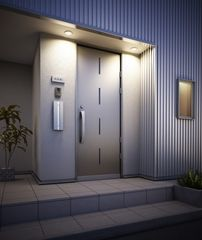 室内で郵便物を受け取ることができる住宅壁埋め込み型ポスト新発売