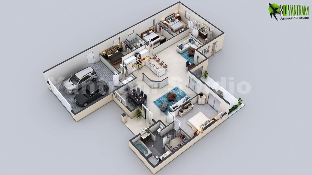 Client 723 Allison Location New York Usa 3d Virtual Floor