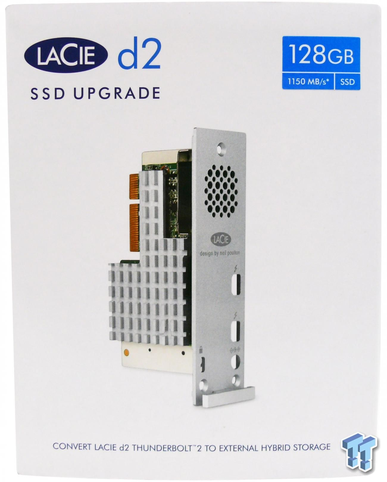 Lacie D2 Thunderbolt 2 128gb Ssd Storage Upgrade Kit Review Storage Ssd Locker Storage
