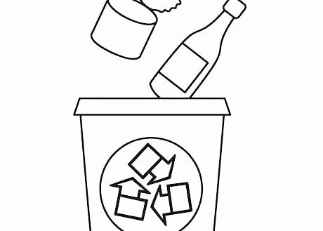 Recycling Worksheets for Preschoolers Recycling Coloring