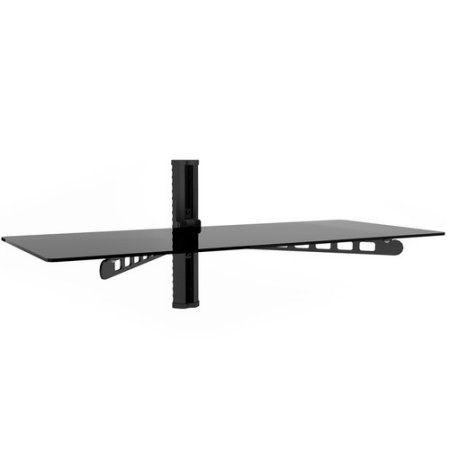 Sonax C 813 Scm 35 Inch Wide White Component Wall Shelf Black