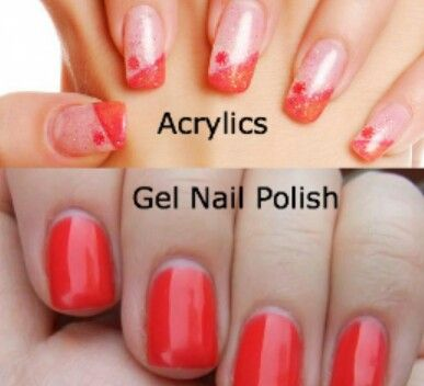 The Difference Between Acrylic And Gel Nails Gel Vs Acrylic Nails Artificial Nails Nails