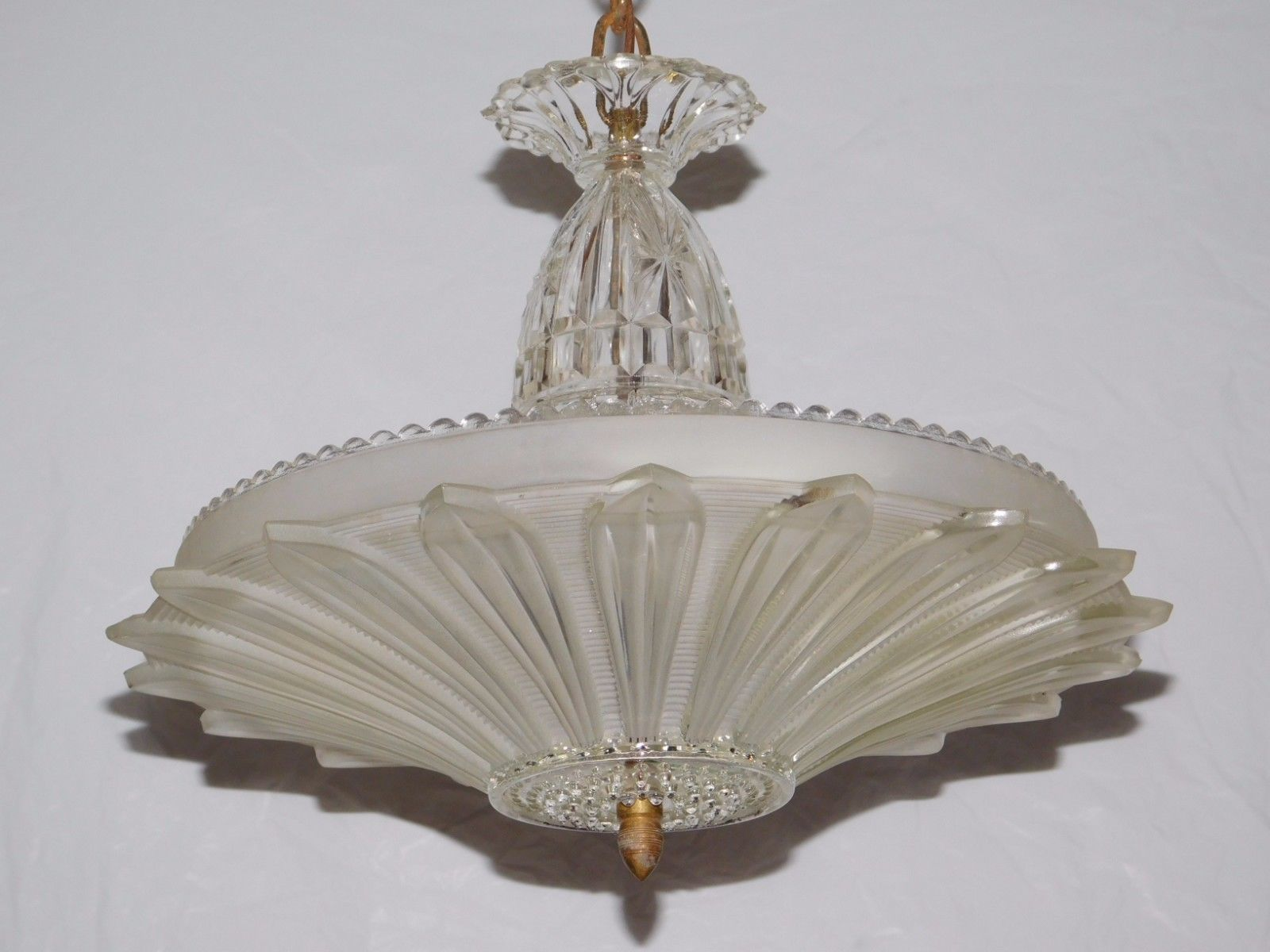 Light Fixtures For Bedrooms Details About Art Deco Sunflower Light Fixture Chandelier Glass