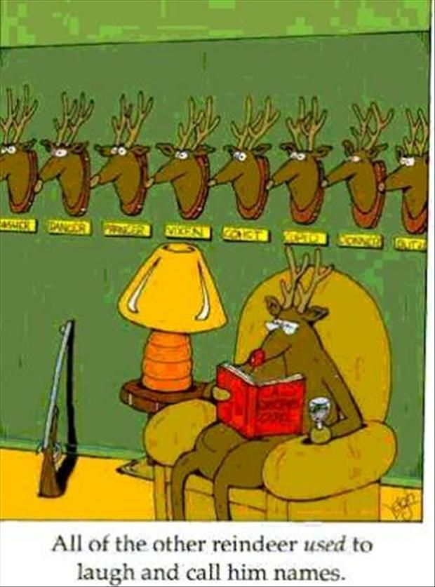 Christmas Humor | They used to laugh and call him names....| Now ...
