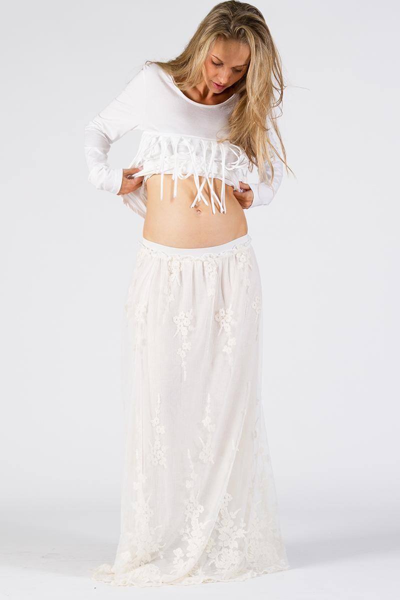Brocade maternity maxi skirt cream fillyboo boho inspired brocade maternity maxi skirt cream fillyboo boho inspired maternity clothes online ombrellifo Gallery