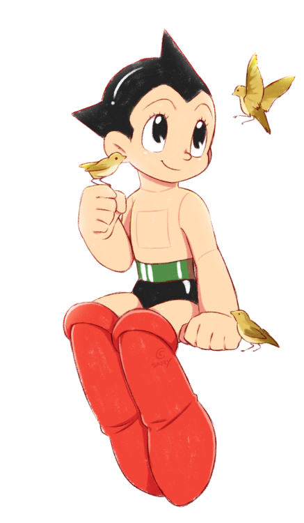 Astro Boy Cartoon httydbooks-doodler: �...