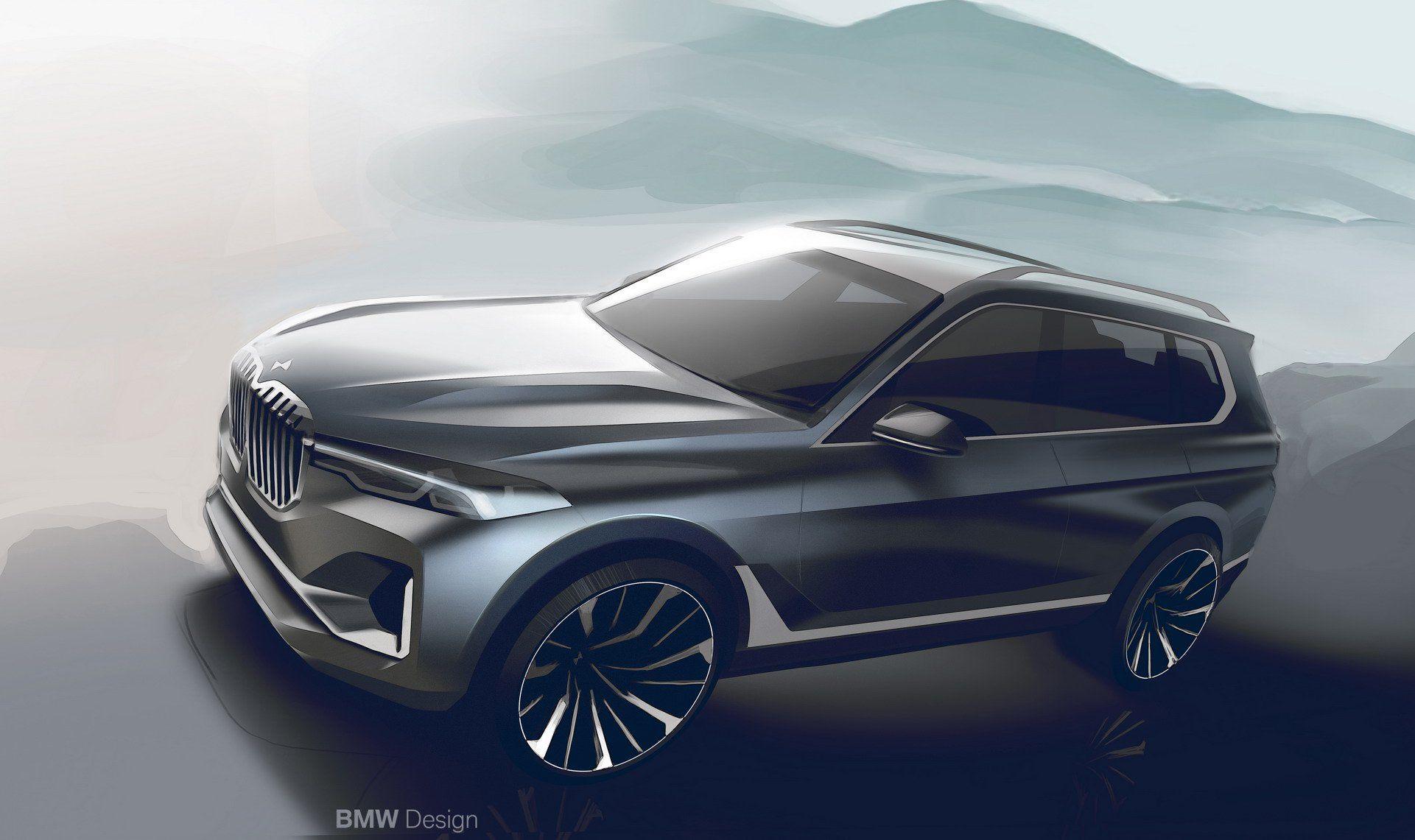 2019 Bmw X7 As Big As A Cadillac Escalade As Luxurious As A Rolls
