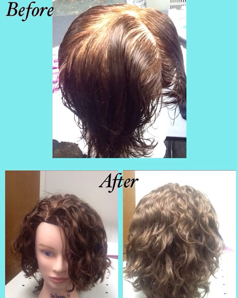 Straight perm solution - Permanent Wave With Velvet Perm Rods And Thio Free Perm Solution Perm Maniquin