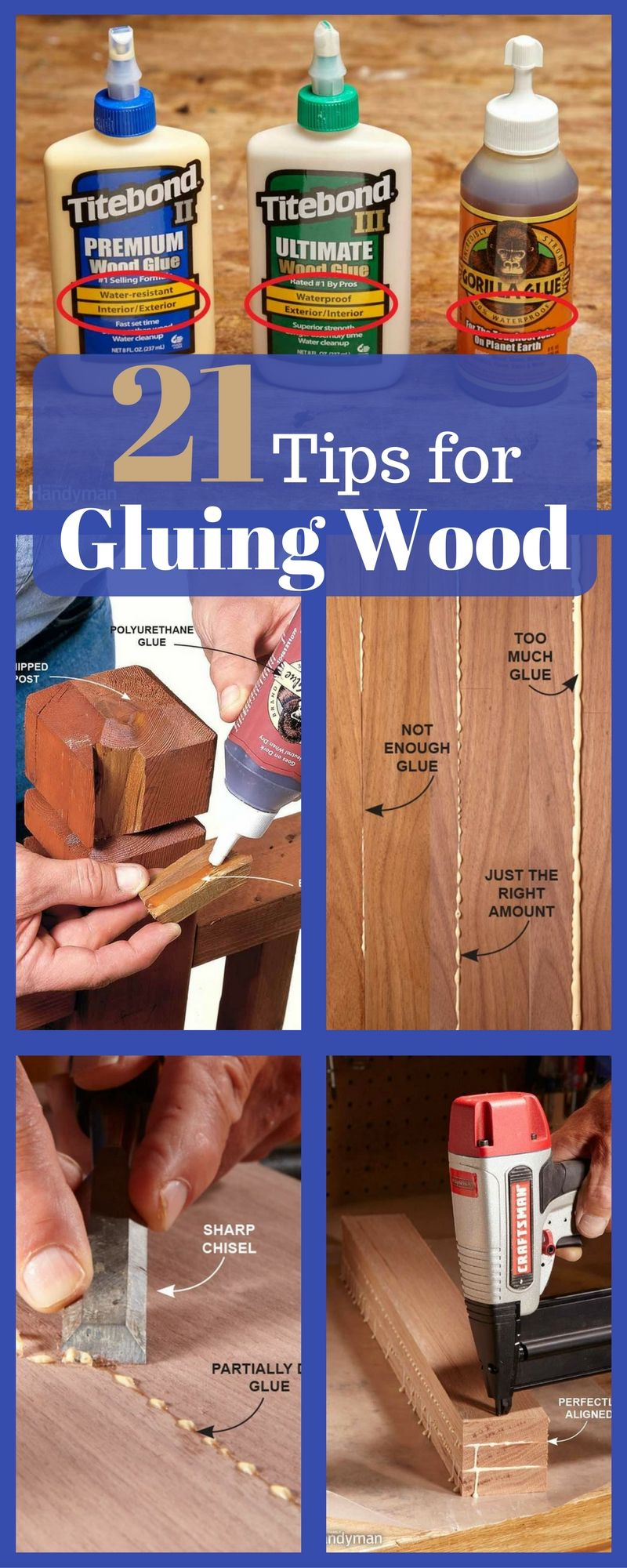 How To Glue Wood Workshop Woodworking Woodworking Projects