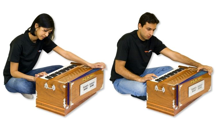 how to play harmonium pdf