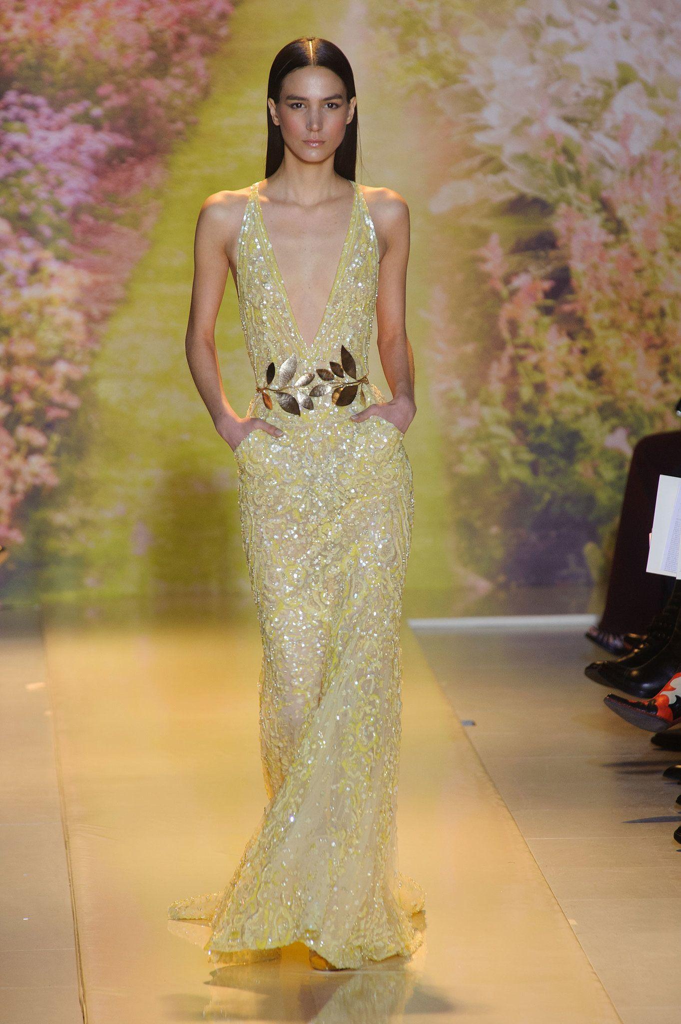 Zuhair murad haute couture spring springsummer pinterest
