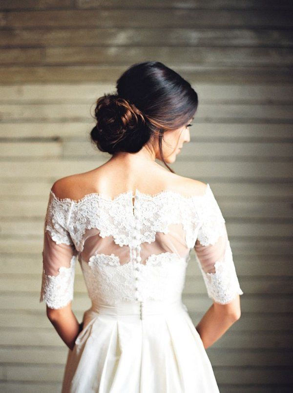 50 Best Wedding Hairstyle Ideas For Wedding 2016 Off Shoulder Wedding Dress Wedding Dresses Bridal Bolero