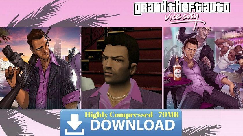 GTA Vice City Apk Data Highly Compressed Download | Android