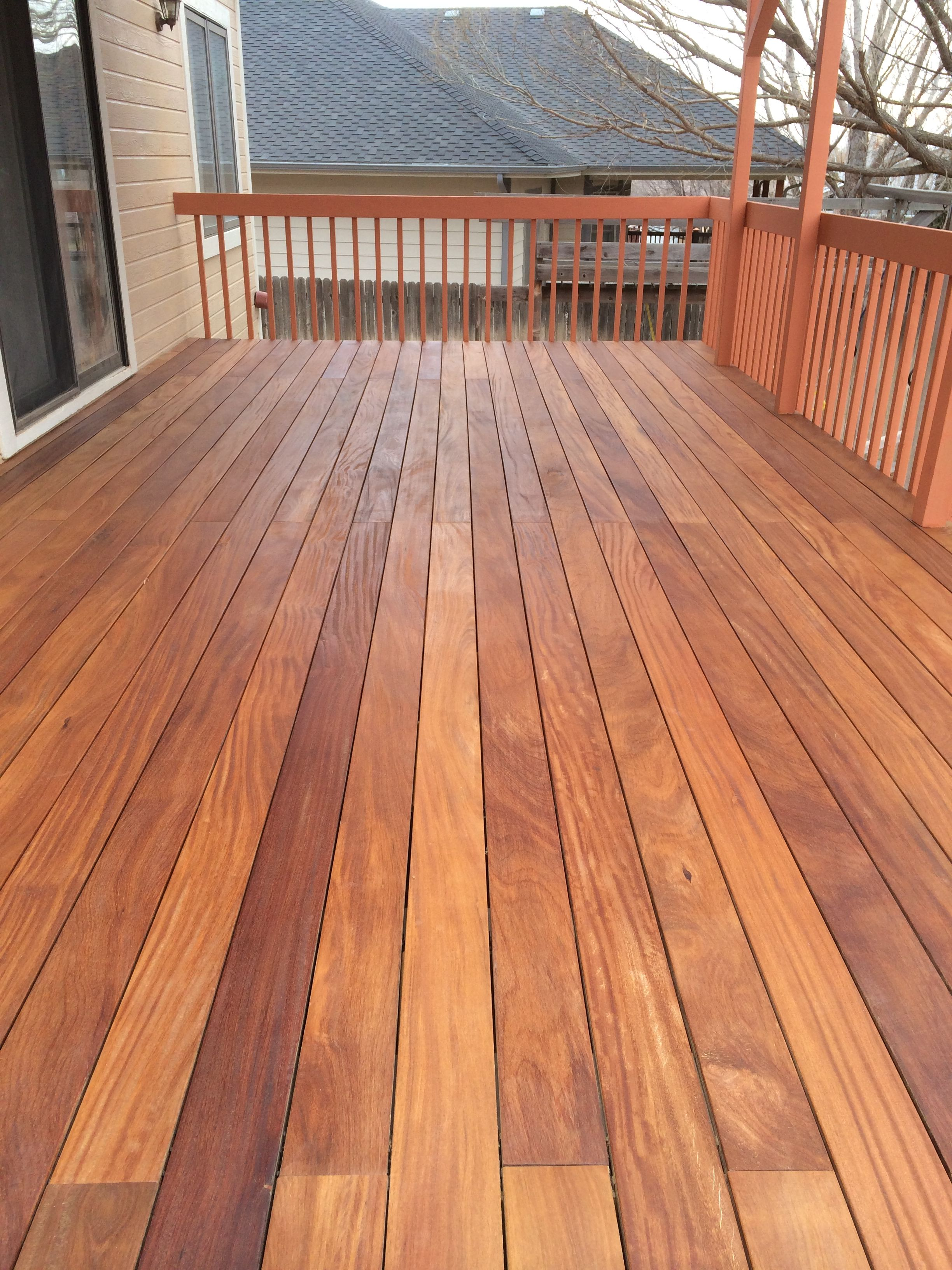 Ipe Deck Finish 5 Things Not To Do Deck Stain Colors Cool Deck Deck Colors