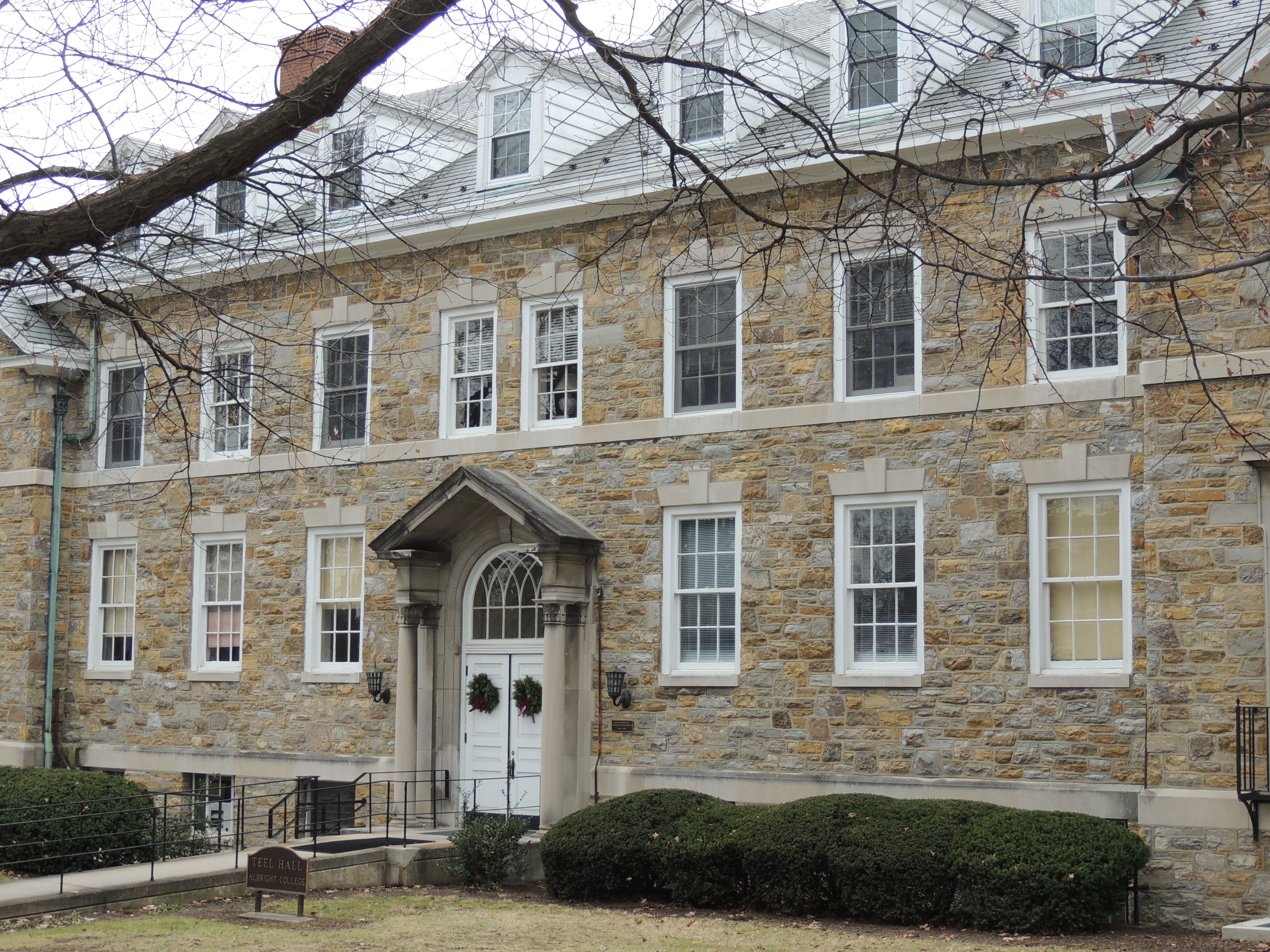 Teel Hall Albright College House Styles Mansions House