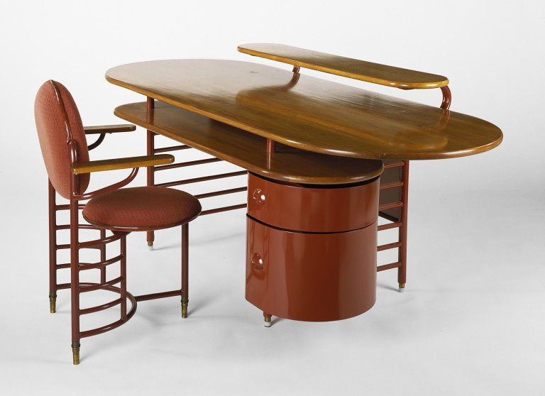 Desk Frank Lloyd Wright Designer Metal Office