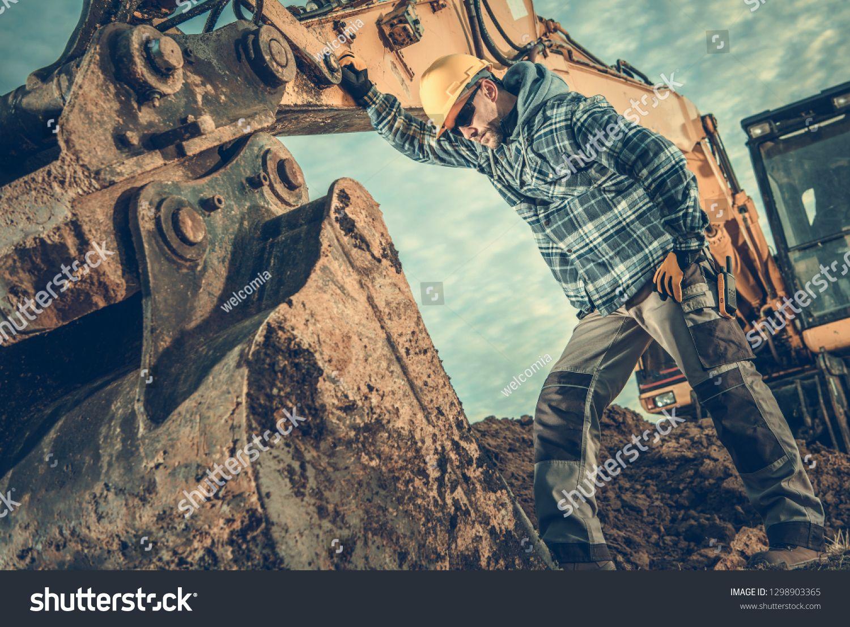 Construction industry heavy equipment operator job