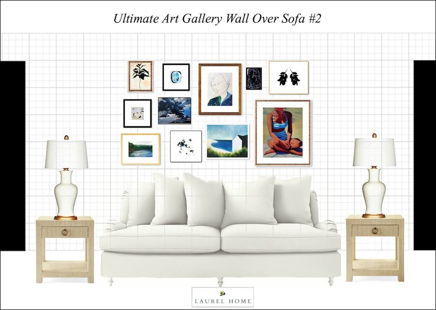 It\'s Here! The Ultimate Art Gallery Wall Hack (aka: Template ...