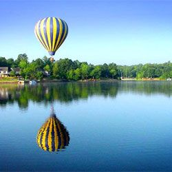 Affordable lake front living near Charlottesville.   http://www.lakemonticello.com