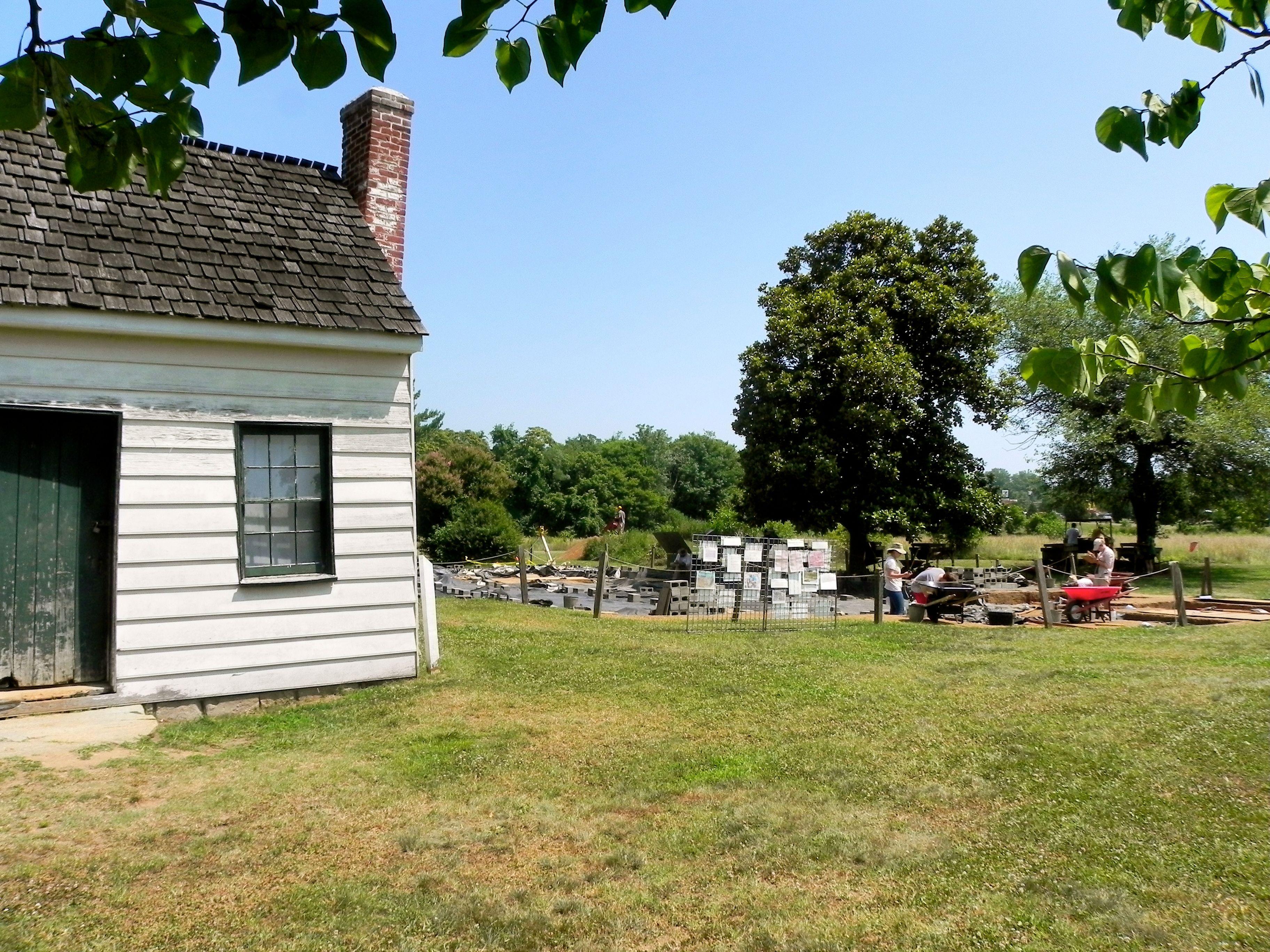 Ferry Farm, George Washington's childhood home in Fredericksburg ...