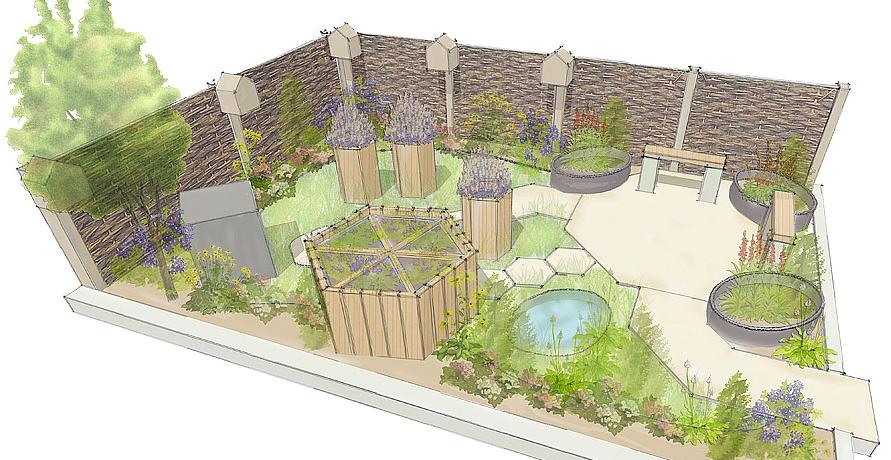 Bromsgrove School \'Bee Happy Garden\' is an ongoing project in ...