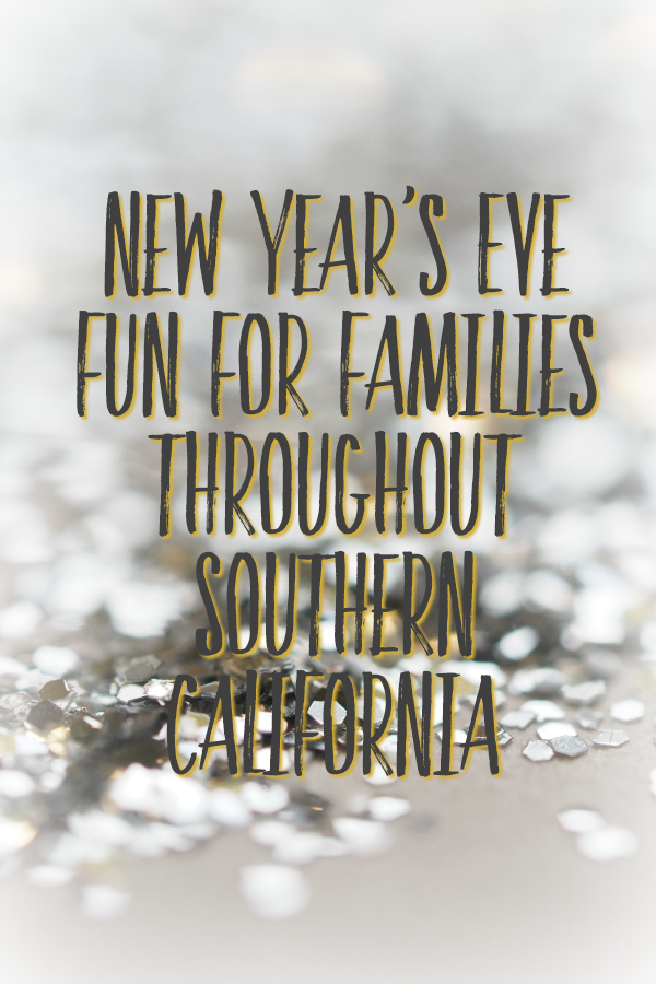 New Year's Eve Fun For Families Throughout Southern