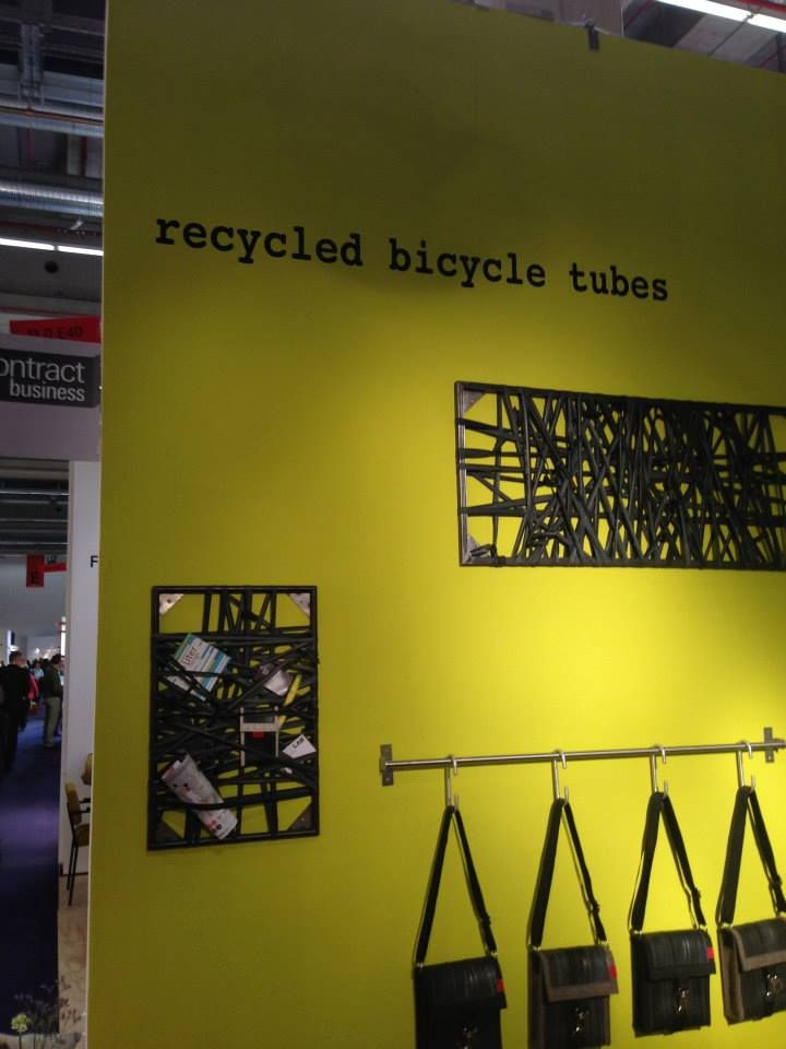 Recycled Bicycle Tubes