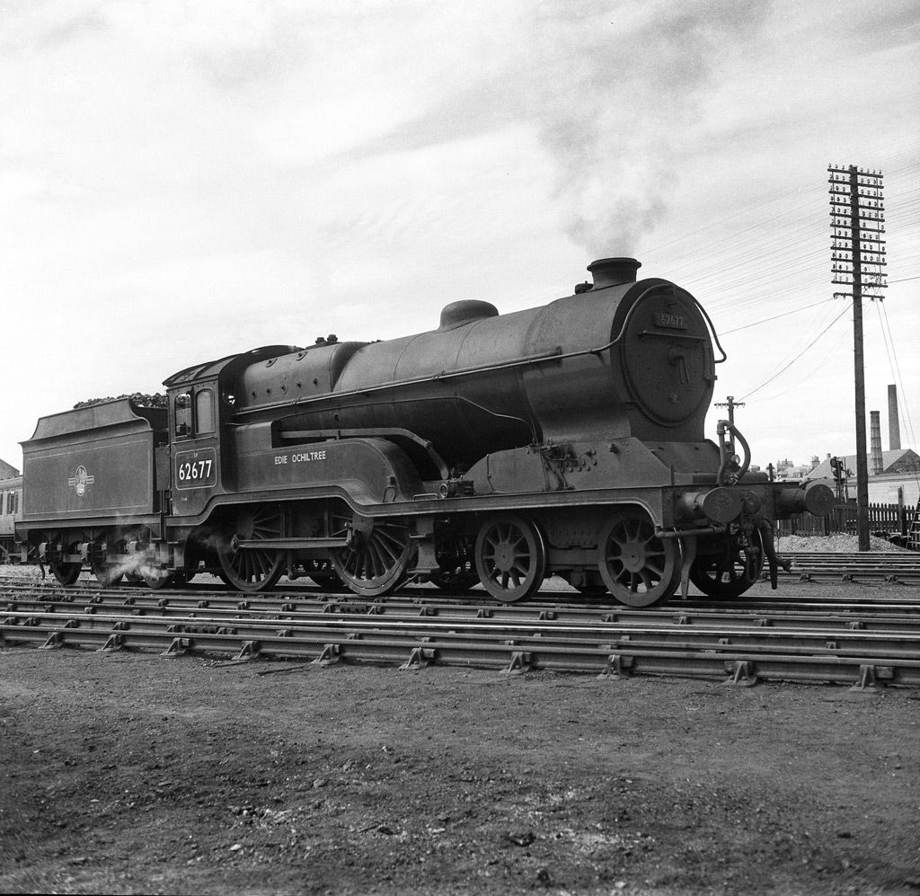 BR 4-4-0 Class D11 Large Director 62677 Edie Ochiltree
