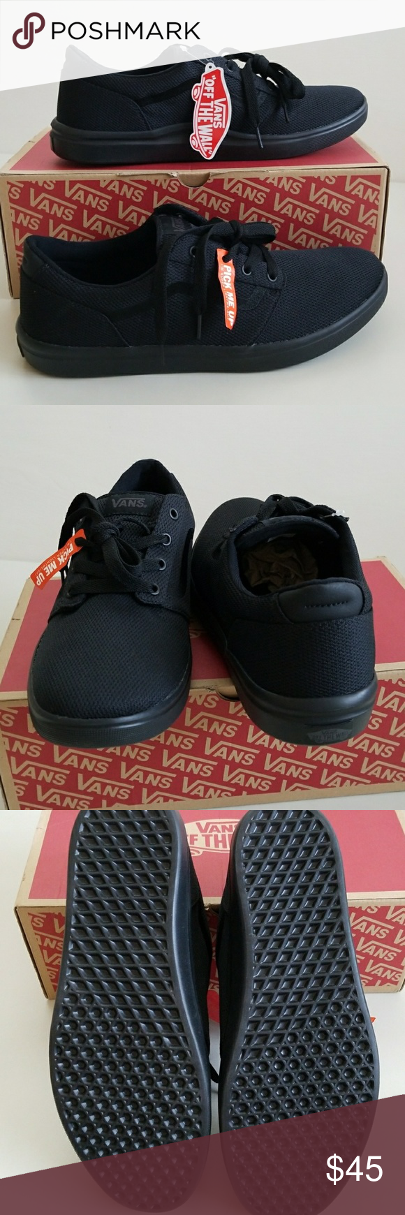 aa6b2ed6ea NWT Men s Vans Lightweight and Comfy New Vans super light and ultra cushy  footbed for all day comfort. Vans Shoes Sneakers