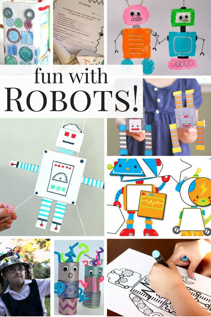 Fun With Robots Crafts Activities For Learning Kids Learning Activities Robot Craft Business For Kids [ 1102 x 735 Pixel ]